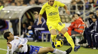 Villarreal close in on top two