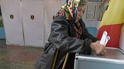 Moldovan alliance leads exit polls