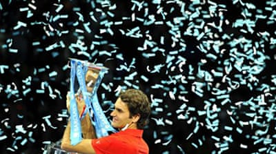 Federer ends year on a high