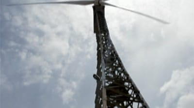 Indian village embraces wind energy