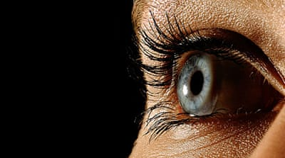 Eye implant helps blind to see