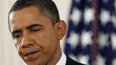 Obama accepts blame over poll loss