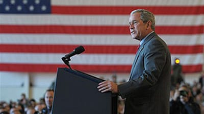 Bush 'sickened' by Iraq war reasons