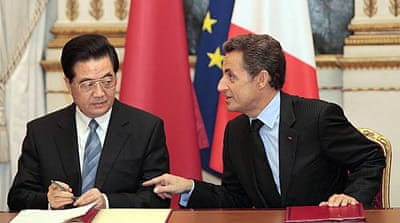 France wins $20bn China contracts