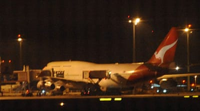 Second Qantas jet aborts flight