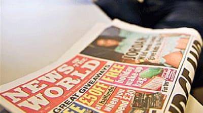 UK tabloid shut down amid phone scandal