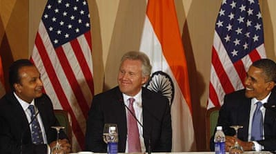 Obama seeks expanded India-US trade