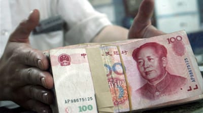 US senators for tough stand on yuan