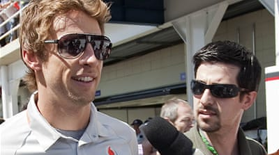 Button escapes Brazil gun attack