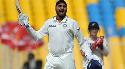 Singh helps steer India to draw