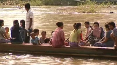 Refugees return to Myanmar