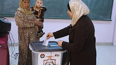 Violence hits Jordanian election