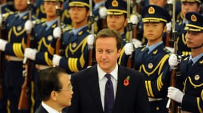 UK and China sign lucrative deal