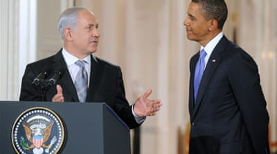 Obama: getting 'poned' Bibi style