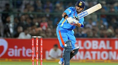 Gambhir guides India to win
