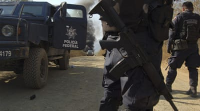 Drug gang blockades Mexican city