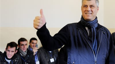 Exit poll: Kosovo PM 'leads' vote