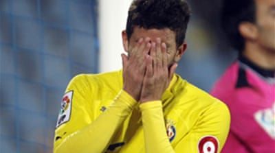 Villarreal give leaders some space