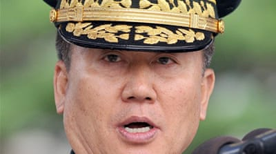 South Korean army chief resigns