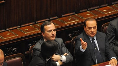 Key dates in Berlusconi's career