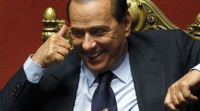 Italy PM survives confidence votes