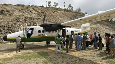 Passenger plane missing in Nepal