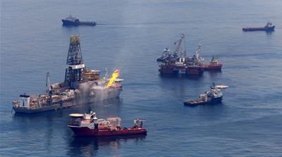 Gulf spill company hands out safety bonuses