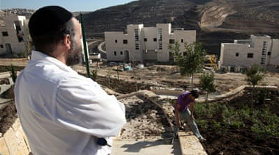 Givat Zeev, near Ramallah, will be expanded in the latest round of approvals [Reuters]