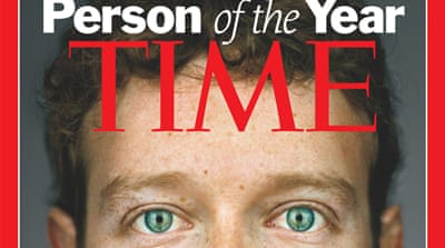 Zuckerberg 'Person of the Year'