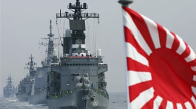 Japan wary of China military threat