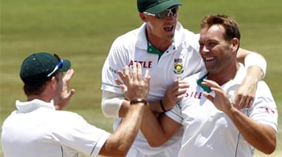 South Africa on cusp of India win