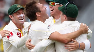 Australia comeback at Ashes