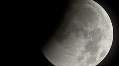 Earth sees rare eclipse of moon
