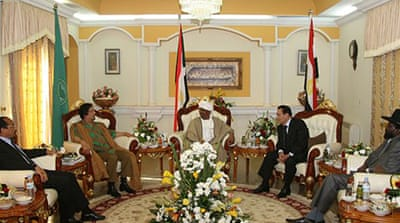 N Africa leaders calm Sudan tension
