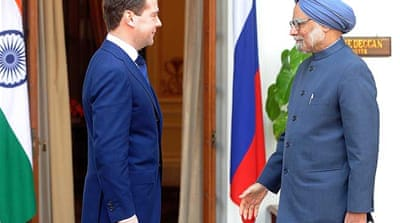 Russia eyes Indian defence deals