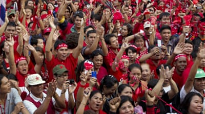 Red shirts to protest in Bangkok