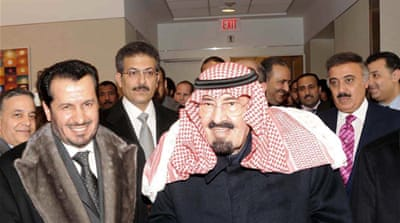 Saudi king leaves hospital