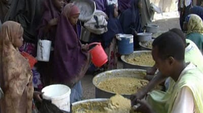 Somalia struggles to feed starving