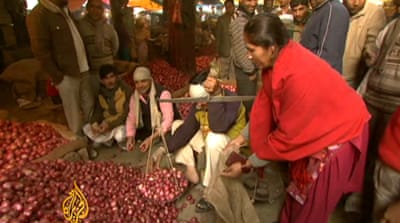 Tears over Indian onion shortage