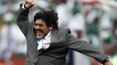 Maradona slapped with UAE fine