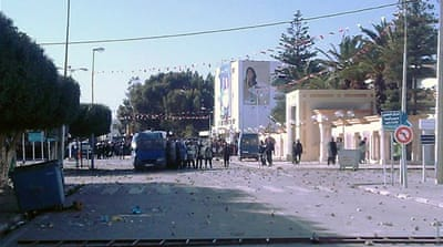 Tensions flare across Tunisia