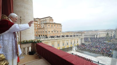 Pope guides 'persecuted' Catholics