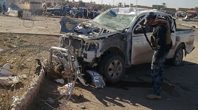 Deaths as multiple blasts rock western Iraq