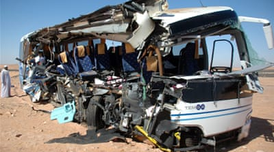 US tourists die in Egypt bus crash