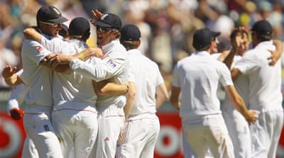England on brink of Ashes glory