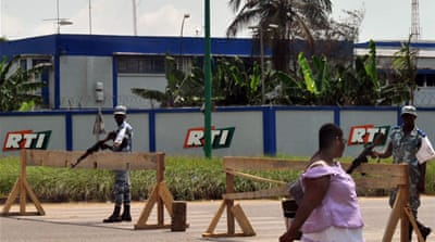 Ivorian state broadcaster disrupted