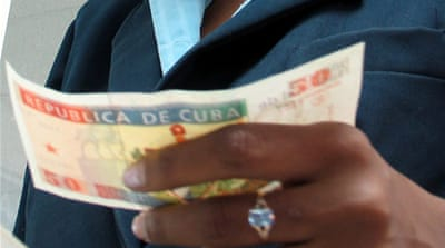 Tax on Cuban cash exchange lifted