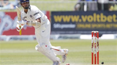 India thank Laxman for Test win