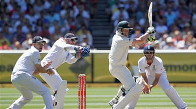 England crush Australia in Ashes