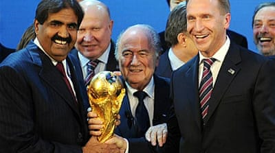 Russia and Qatar to host World Cups